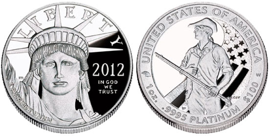 2012 Platinum Eagle