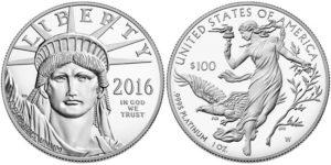 2016 Proof Platinum Eagle