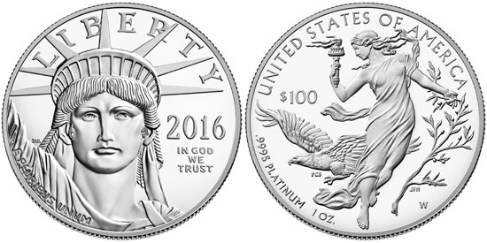 2016 Proof Platinum Eagle